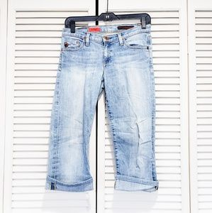 Adriano Goldschmeid Cropped Jeans
